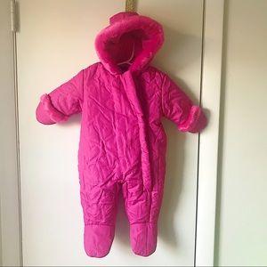 Pink Infant Snowsuit 3-6M